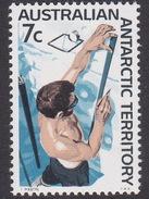 Australian Antarctic Territory  ASC 12 1966 Decimal Definitives 7c Snow Strata MNH - Unused Stamps