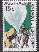 Australian Antarctic Territory  ASC 14 1966 Decimal Definitives 15c Balloon MNH - Unused Stamps