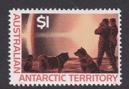 Australian Antarctic Territory  ASC 18 1966 Decimal Definitives $ 1.00 Mock Sun MNH - Unused Stamps