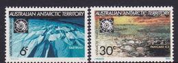 Australian Antarctic Territory  ASC 19-20 1971 10th Anniversary Of The Antarctic Treaty MNH - Unused Stamps