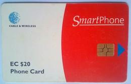 Antigua Phonecard EC$20 Chip Card