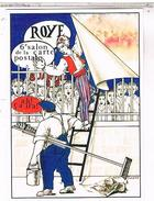 SALON BOURSE CARTE POSTALE ROYE 1989  TIRAGE 1500  DESSIN  TARDIEU   BO26 - Bourses & Salons De Collections