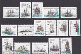 Australian Antarctic Territory  ASC 37-51 1979-1982 Definitive Ships MNH - Unused Stamps