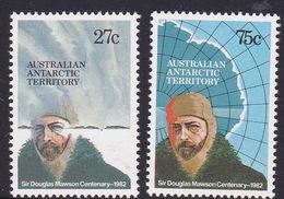 Australian Antarctic Territory  ASC 52-53 1982 Mawson MNH - Unused Stamps