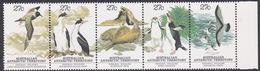 Australian Antarctic Territory  ASC 54-58 1983 Regional Wildlife MNH Strip 5 - Unused Stamps
