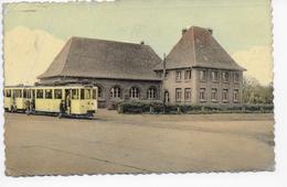 Eisden : Postbureel Met Tram (plooi Li Boven) - Maasmechelen
