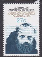 Australian Antarctic Territory  ASC 59 1983 12th Antarctic Meeting 27c Scientist MNH - Unused Stamps