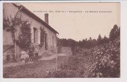 CPA - FOURNOLS - Alt Altitude 1040 M. Mètre - Boisgrand - La Maison Forestière - Autres Communes