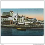 CDZTP4496CPA-LFTMD607TPPES.Tarjeta Postal DE CADIZ.Edificios,barcas De Pesca.RIO DE LA MIEL Y VISTA DE  ALGECIRAS - Pesca
