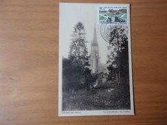 FRANCE (1958) Journée Du Timbre THANN - Maximumkarten