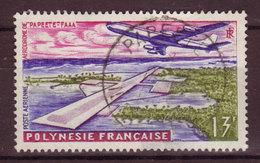 POLYNESIE - 1960 - YT N° PA 5 - Oblitéré - 1 Clair - Aéroport De Faaa - Airmail