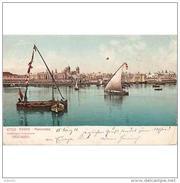 CDZTP4468CPA-LFTMD5057TPPES.Tarjeta Postal DE CADIZ.Edificios.barcas De Pesca.VISTAS De CADIZ,desde El Puerto - Pesca