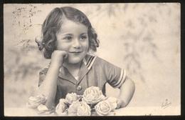 BAMBINI (62) - CHILDREN   KINDER   ENFANTS - CARTOLINA VIAGGIATA NEL 1941 CON TIMBRI CENSURA REGIA MARINA - LIEVE GRINZA - Ritratti