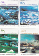 Australian Antarctic Territory  ASC 83-86 1989 Landscapes Set MNH - Unused Stamps