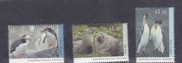 Australian Antarctic Territory  ASC 94-96 1993 Regional Wildlife Set MNH - Unused Stamps