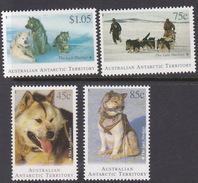 Australian Antarctic Territory  ASC 97-100 1994 The Last Huskies MNH - Unused Stamps