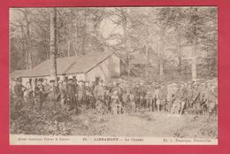 Libramont - La Chasse ... Groupe De Chasseurs - 1908 ( Voir Verso ) - Libramont-Chevigny