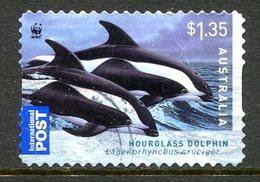Australia 2009 Dolphins - $1.35 Self-adhesive Used - Usati