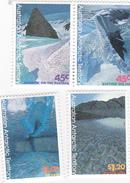 Australian Antarctic Territory  ASC 105-108 1996 Landscapes Set MNH - Unused Stamps