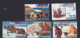 Australian Antarctic Territory  ASC 109-1131997 50th Anniversary Of Anare MNH - Unused Stamps