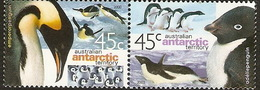 Australian Antarctic Territory  ASC 122-123  2000 Penguins - Unused Stamps