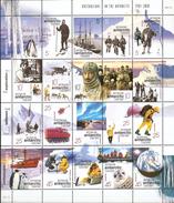 Australian Antarctic Territory  ASC 124-143 2001 Australians In The Antarctic 1 Sheetlet MNH - Unused Stamps