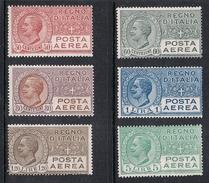 ITALIE AERIEN N°3 A 9 N* Sauf N°8 - 1900-44 Vittorio Emanuele III