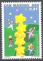 San Marino 2000 Michel 1883 Neuf ** Cote (2015) 1.50 Euro Europa CEPT Colonne D'étoiles - Saint-Marin