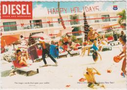 AK - Alte Diesel Postkarten 1996 - Original - 5 Stück - Werbepostkarten