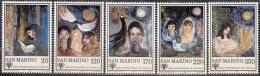 San Marino 1979 Michel 1182 - 1186 Neuf ** Cote (2006) 1.10 Euro Année De L'enfant Tableaux De Marina Busignani - San Marino