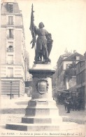 ----75 ---- PARIS  La Statue De Jeanne D'Arc Boulevard Saint Marcel - écrite TTB - Frankrijk