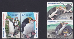 Australian Antarctic Territory  ASC 168-171 2007 Royal Penguins MNH - Unused Stamps