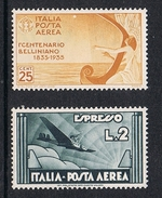 ITALIE AERIEN N°41 Et 86 N** - 1900-44 Vittorio Emanuele III