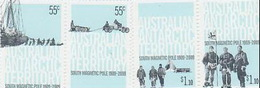 Australian Antarctic Territory  ASC 176-179 2009 Centenary Of First Expedition To South Pole MNH