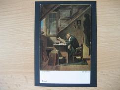 Österreich- Künstlerkarte 1930 - Carl Spitzweg, Ein Besuch Nr. 2985 - Boeken