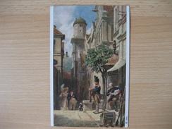 Österreich- Künstlerkarte 1930 - Carl Spitzweg, Er Kommt Nr. 2980 - Boeken