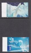 Australian Antarctic Territory  ASC 180-181 2009 Poles And Glaciers MNH
