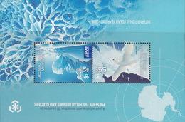 Australian Antarctic Territory  ASC 181MS 2009 Poles And Glaciers Miniature Sheet MNH - Unused Stamps