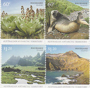 Australian Antarctic Territory  ASC 182-185 2010 Macquarie Island Set MNH - Unused Stamps