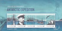 Australian Antarctic Territory  ASC 194MS 2011 Antarctic Expedition Departure And Journey MNH