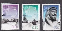 Australian Antarctic Territory  ASC 196-198 2012 Phillip Law Set Mint Never Hinged