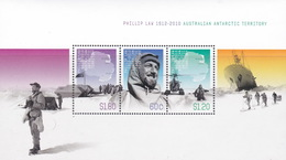 Australian Antarctic Territory  ASC 198MS 2012 Phillip Law Miniature Sheet Mint Never Hinged - Unused Stamps