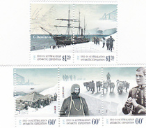 Australian Antarctic Territory  ASC 199-203 2012 Antarctic Expedition II Arrival And Exploration MNH