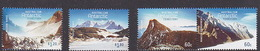 Australian Antarctic Territory  ASC 204-207 2013 Antarctic Mountains Set MNH