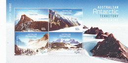 Australian Antarctic Territory  ASC 207 MS 2013 Antarctic Mountains Miniature Sheet MNH - Unused Stamps