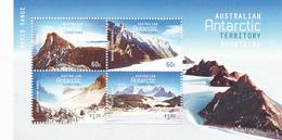 Australian Antarctic Territory  ASC 207 MS 2013 Antarctic Mountains Miniature Sheet MNH