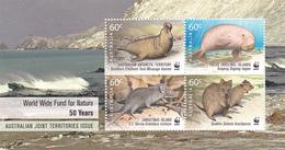 Australian Antarctic Territory  ASC 2009  50th Anniversary WWF Mini Sheet MNH