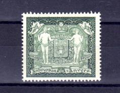 1930    Armes De La Ville D'Anvers, 301**, Cote 140 €, - Belgique