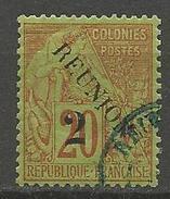 REUNION N° 31 VARIETEE SANS ACCENT OBL / AMINCI - Réunion (1852-1975)