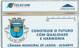 PHONECARDS-- PORTUGAL-OPTICAL- 50 UC. M. LAGOA--BATCH-- 404L- MINT-- NOVO---2.500 - Portugal